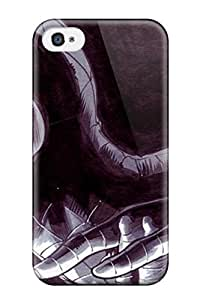 High Quality Shock Absorbing Case For Iphone 5/5s-black And White Spiderman
