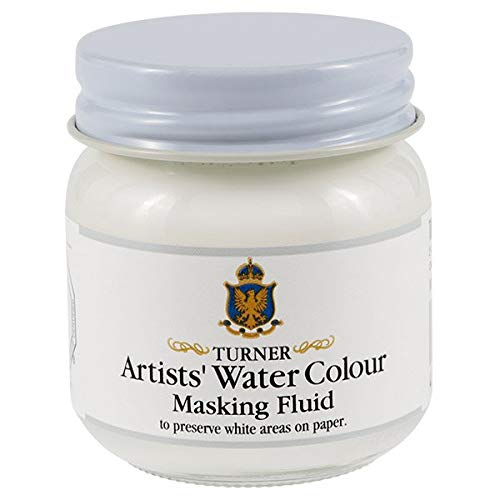 (Turner Colour Works Watercolor Masking Fluid - 40 ml Jar)
