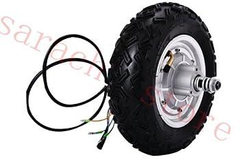 """10 """"500 W 36 V motor eléctrico Scooter eléctrico rueda Hub motor ..."""