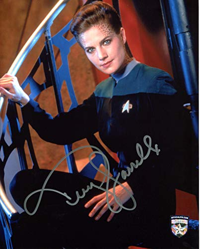 Terry Farrell Autographed / Signed Star Trek Deep Space 9 As Jadzia Dax 8x10 Glossy Photo Includes Official Pix Certificate of Authenticity and Catalogued Number. Entertainment Autograph Original. DS9, Sisko