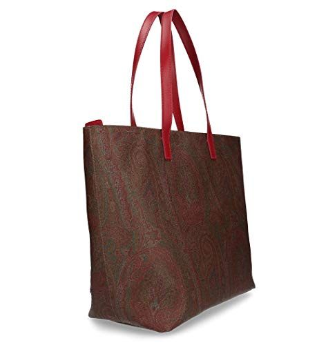 1h70978618000 Donna Shopping Etro Multicolor Borsa Cotone wtRBT8Fq