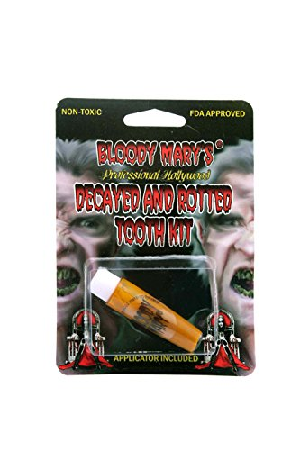 [Bloody Mary F/X Monster Tooth Paint, Nicotine] (Bloody Mary Costume)