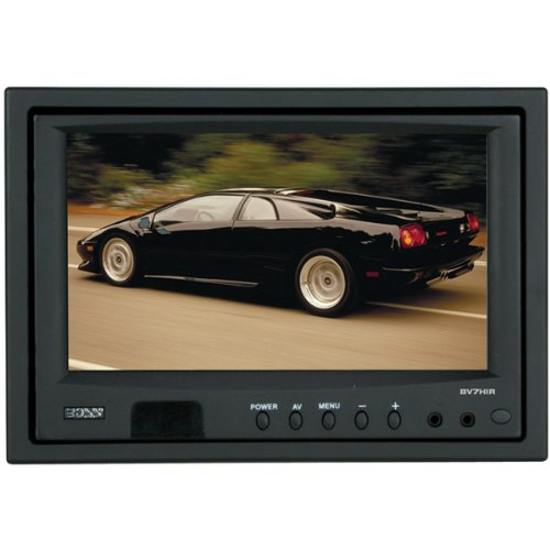 New-7 Headrest TFT Video Monitor With Built-In Dual Channel