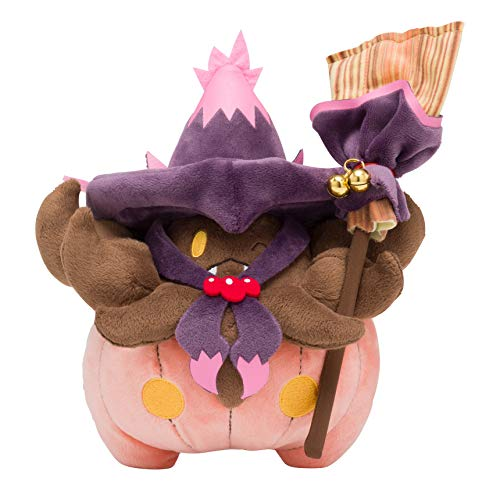 Pokemon Center Original Plush Doll We are Team Trick! Halloween Pumpkaboo Bakeccha 908]()