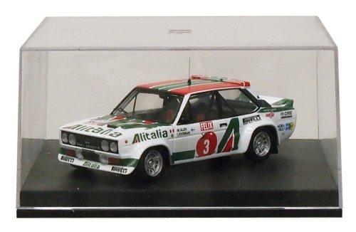 1/43 フィアット131 ABARTH`アリタリア`1978年1000湖ラリー優勝 ドライバー:Markku Alen/Ikka Kivimaki KBT001