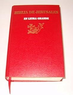 Biblia de Jerusalen En Letra Grande (Spanish Edition)