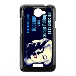 Marilyn Monroe Smoking HTC One X Durable Hard Plastic Case TPU Back Cover Fit Cases