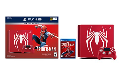 PlayStation 4 Pro 1TB Limited Edition Console - Marvel's Spider-Man Bundle [Discontinued] 2