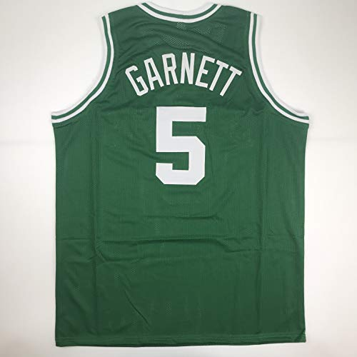 Unsigned Kevin Garnett Boston Green Custom Stitched Basketball Jersey Size Men's XL New No Brands/Logos