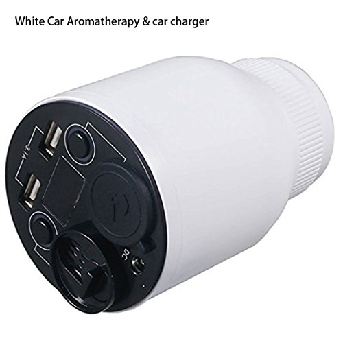 Picture of a White and Black Car Aromatherapy 699967502254