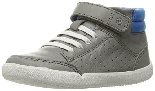 Toddler Stone - Stride Rite Stone Boot (Toddler), Grey, 4 M US Toddler