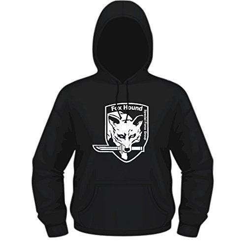 Creepyshirt - MGS METAL GEAR SOLID INSPIRED - FOXHOUND HOODIE