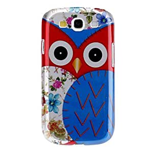 TOPMM Lovely Owl Pattern Hard Case for Samsung Galaxy S3 I9300
