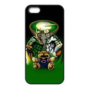Green Bay Packers iPhone 5 5s Cell Phone Case Black 218y3-140179