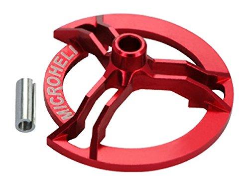 Precision CNC Alum Swashplate Leveler, Red
