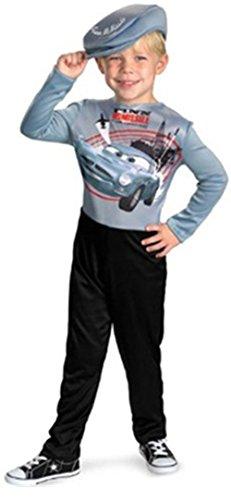 Disney Pixar Cars 2 Finn McMissile Basic Halloween Costume - Child Size -