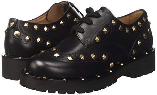 Shoes Black 00006 Twin nero Set Women's Derby Ca7pae TXqIwqv