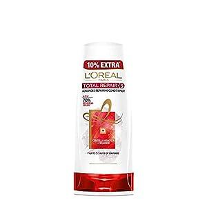 L'Oreal Paris Total Repair 5 Conditioner, 175ml (With 10% Extra) & L'Oreal Paris 6 Oil Nourish Shampoo, 640ml (With 10…