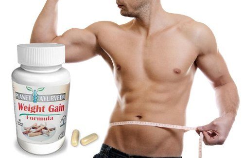 1, 2, 3 or 4 Pack. GAIN MASS MEN 60 Tablets. Planet Ayurveda Weight Gain. Mass Gainer Formula Gain weight men. Gain Mass quickly Pills to gain weight for men. Gain True Mass Easily (1 One Bottle Pack)
