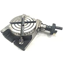 """New New Rotary Table 3"""" inch - 75mm Horizontal & Vertical Model- Milling Machine"""