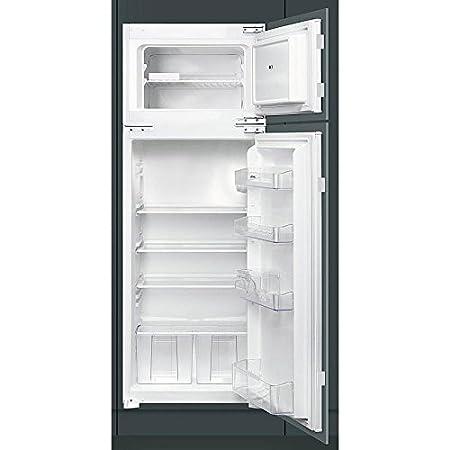 Smeg FR232P Incasso 176L 38L A+ Acciaio inossidabile frigorifero con ...