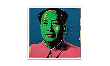 Mao – Andy Warhol – Most Expensive Paintings – 24×24 Matte Poster Print Wall Art