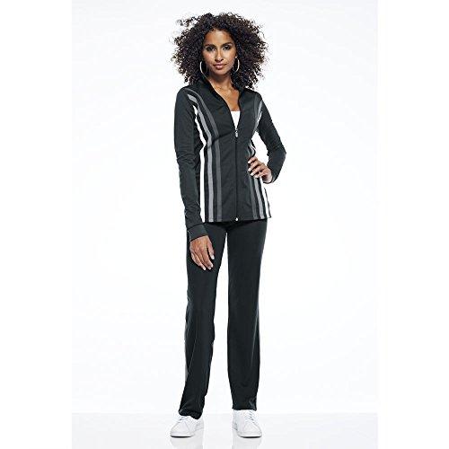 Masseys Contrast-Striped Track Suit Black
