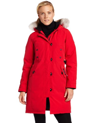 Women's Kensington Parka,Red,Small