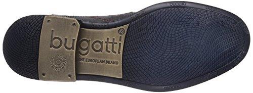 Bugatti R0902-1G6-145 Lodo - Zapatillas clásicas de cuero para hombre gris - Grau (d'grau 145)