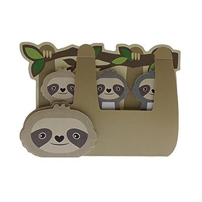 Streamline Sloth - Sticky Memo Tab Set - Streamline