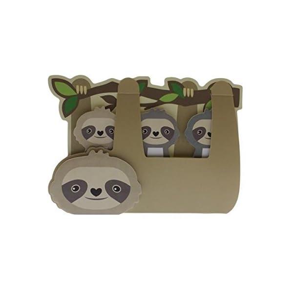 Streamline Sloth - Sticky Memo Tab Set -
