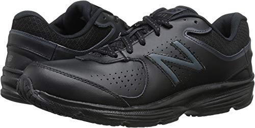 New Balance Women's WW411v2 Walking Shoe, Black, 9 B US ()