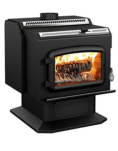 Drolet High-Efficiency Wood Stove - 95,000 BTU, Model# HT200