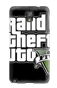 New Design Shatterproof CDmvGAa334bpqmJ Case For Galaxy Note 3 (gta V)