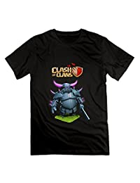SOI Men's Tees Clash Of Clans Supercell Black