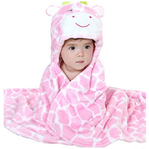 Zoopurr Hooded Animal Blanket Huggable
