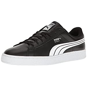 PUMA Men's Basket Classic Badge Fashion Sneaker