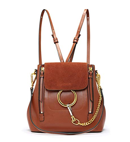 FairyBridal Women Real Leather Satchel Cross Body Handbags,Backpack 3 Colors ()