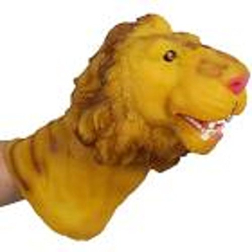 - Sunfei Animal Hand Puppet Baby Infant Kid Toy Plush Toys Silica Gel Spoof (C)