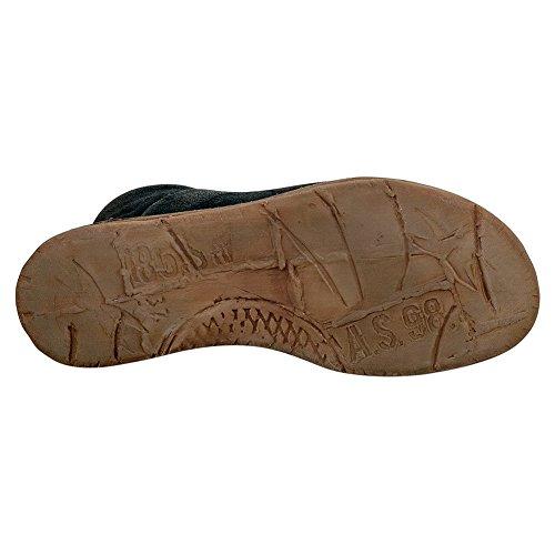 As98 Reiley Kvinders Peep Toe Sandal Sort bYEYyH5jzh