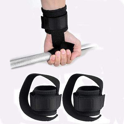 FidgetGear Gym Power Training Weight Lifting Straps Wraps Hand Bar Wrist Support Nice from FidgetGear