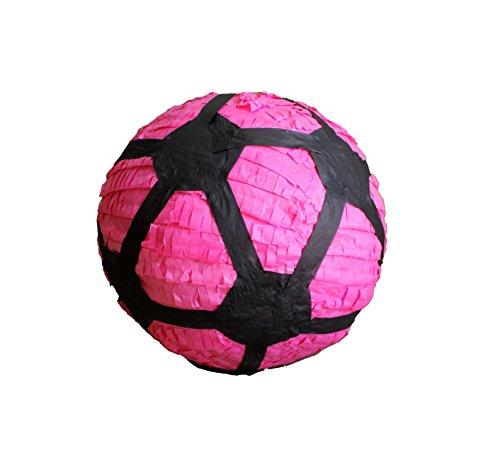 Pink Soccer Ball Pinata