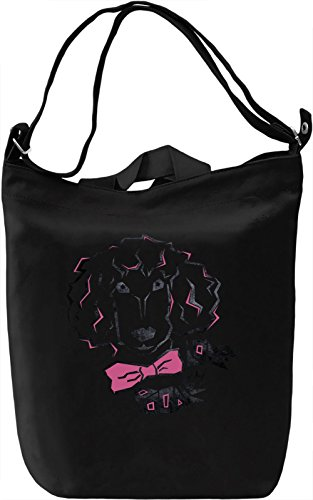 Love Poodles Borsa Giornaliera Canvas Canvas Day Bag| 100% Premium Cotton Canvas| DTG Printing|