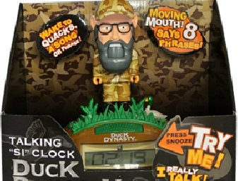 Duck Dynasty Uncle Si's Talking Clock