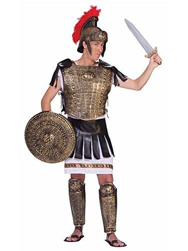 (Adult Roman Soldier Gold Set)
