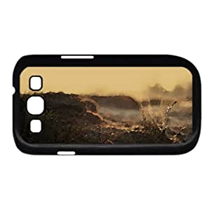 Dirt And Wet Grass Watercolor style Cover Samsung Galaxy S3 I9300 Case (Autumn Watercolor style Cover Samsung Galaxy S3 I9300 Case)