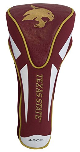 Team Golf NCAA Texas State Bobcats Golf Club Single Apex Driver Headcover, Fits All Oversized Clubs, Truly Sleek Design