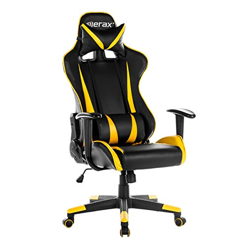 Merax Racing Gaming High-Back Chair Ergonomic Design Compute