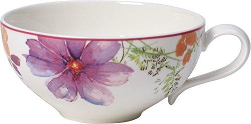 Villeroy & Boch Mariefleur Tea Taza de té, 240 ml, Altura: 5 cm, Porcelana Premium, Colorido