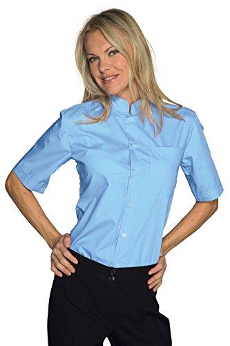 Isacco-Maglietta maniche corte unisex, Dublino, colore: blu chiaro